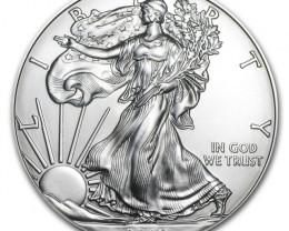 Silver Eagle Coins