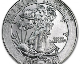 Silver Round one ounce Walking Liberty.999 fine silver