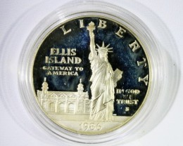 US Mint .999 Silver Comm ASW.7734 LIBERTY 1986