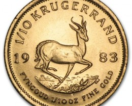 1983 1/10 oz Gold Kuggerand Coin