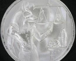 2 oz silver round  - Anubis UHR 0.999 pure silver