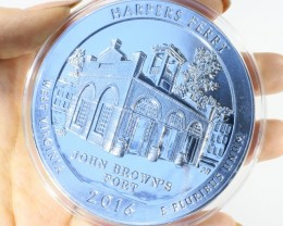 5 oz Harpers ferry  5 oz US mint America The Beautiful