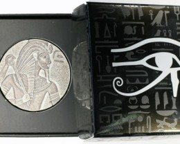 5 oz King tut 99.9 % pure silverscottsdale mint