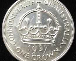 Australian One Crown 925 silver coin  CO 2303