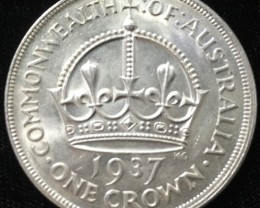 Australian One Crown 925 silver coin  CO 2304