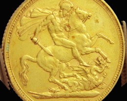 M1896  Full Gold Sovereign QUEEN VICTORIA CO2331