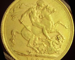 M1902 Full Gold Sovereign  EDWARD VII CO2334