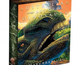 Australian Age of Dinosaurs – Muttaburrasaurus 2015 1oz Silver Proof Coin