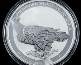 2016 Wedged Tail Eagle silver 99.9% pure
