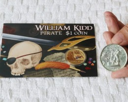 high relief 2 oz silver Medallion  - The Plank UHR 99.9% pure