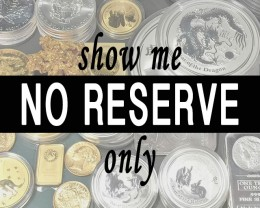 No Reserve Coin Online Auctions