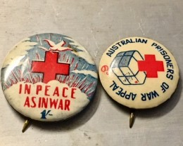 Two war world two badges J 2500