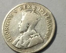 3 Pence - George V 800 silver  J 2037