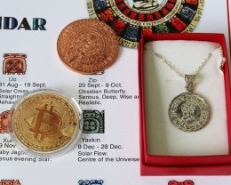 Tongue in cheek Mayan end of world Bitcoin Gift set .