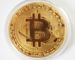 Bitcoin in Capsule Gift Art Collection One Art piece