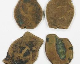 Four Widows Mite coin in Display case  SU758