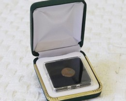 Widows Mite coin in Display case  SU767