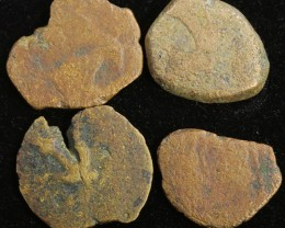 Four Biblical Coin Janenaeus Period  in display box SU751