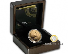 South Africa 1 oz Gold Krugerrand 2017 Proof  (Ann.)