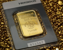 Goldbarren 1 oz Heraeus