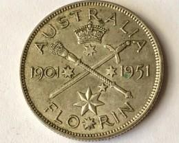 Florin  500 silver J2620