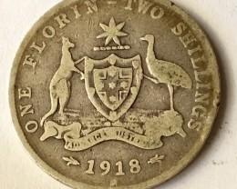Florin 925 silver J2622