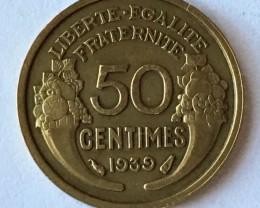 France  coin  thrid republic J2649