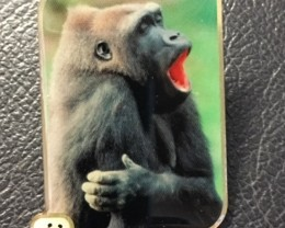 wwf 1986 Badge  GORILLA J26890