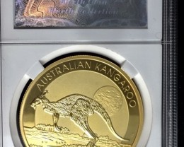 Replica  Sealed and certificate G/P 2015  Australian Kangaroo Coin J2723