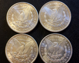 1886  1889  Replica set four   Morgan Dollars   J 2761