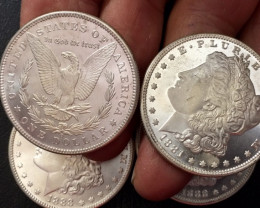 1880-1883 Replica set four   Morgan Dollars   J2767