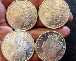1880-1883 Replica set four   Morgan Dollars   J2768