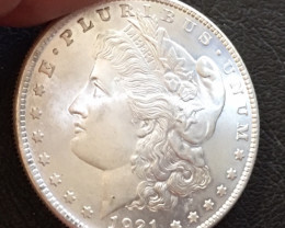 1921  Replica    Morgan Dollar   J2772