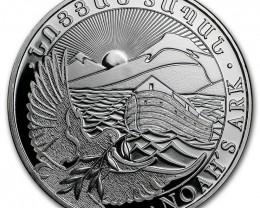 500 Drams Armenia one ounce  Pure Silver 99.9%
