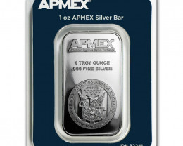Precious metals one ounce Pure Silver 99.9% TEP pack