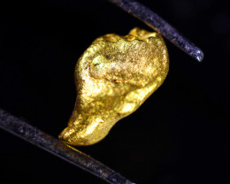 0.25 Grams Large Australian  Gold Nugget   LGN 1569