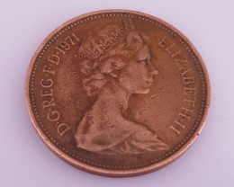 2p New Pence coin.