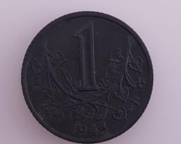 1943 1 BOHMEN UND MAREN COIN.