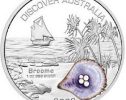 Discover Australia 2006 Broome 1oz Silver Coin