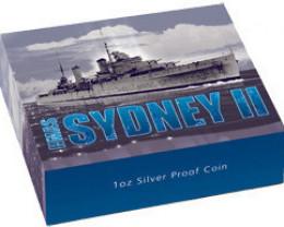 HMAS Sydney II 1oz Silver Proof Coin
