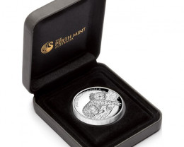 Australian Koala 2012 1oz Silver Proof High Relief Coin