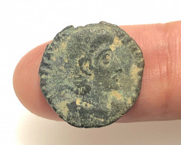 As Found Ancient Roman  bronzeCoin  CP 316