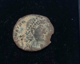 As Found Ancient Roman  bronzeCoin  CP 303