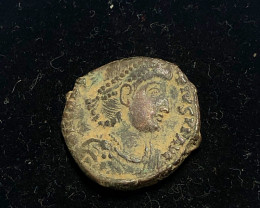 As Found Ancient Roman  bronzeCoin  CP 301