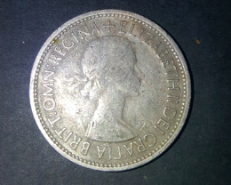 One Florin (Two shillings ) United Kingdom 1953