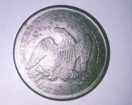 "1 Dollar ""Seated Liberty"" 1871"