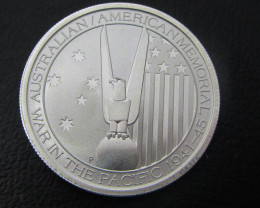 ONE Perth Mint 1/2 silver oz Alliance memorial coin