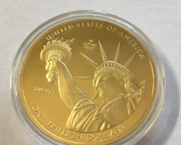 USA One Trillion Collectible Liberty 2013