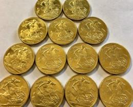 Collectible Queen Victoria Sovereign Gold copy 1778-1900 CP 332
