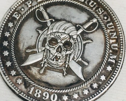 Hobo Coin Pirate Artistic  Form Design   CP 450